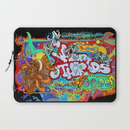 Other Worlds: The Game Logo Design Laptop Sleeve