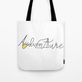 Adventure Things Tote Bag