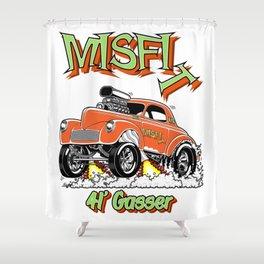 MISFIT- rev 3 Shower Curtain