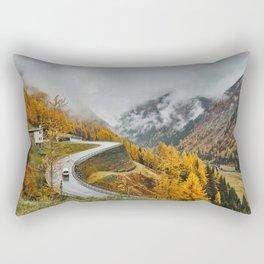 Nature Road Mount Rectangular Pillow