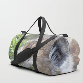 Watercolor Pika 03, Fall River Road, RMNP, Colorado, Picked Just for You! Duffle Bag