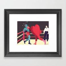 Punch Drunk Love Framed Art Print