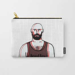 Beard Boy: Red 1 Carry-All Pouch