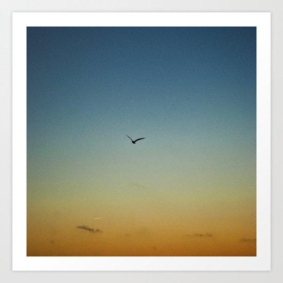 Mindelo. Flight. Art Print