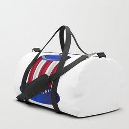 Uncle Sam Flag Hat Duffle Bag
