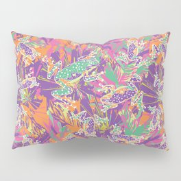 Tropical summer rainforest party Pillow Sham