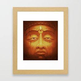 Buddha II Gold Framed Art Print