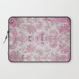 you can tapestry v. pink & raspberry Laptop Sleeve