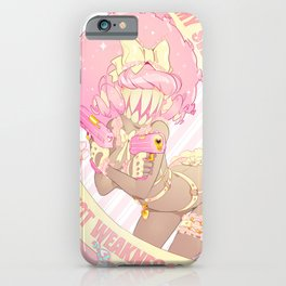 My Sweetness is NOT Weakness! iPhone Case