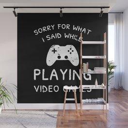 Guilty Gamer Wall Mural