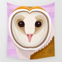 Barn Owl Wall Tapestry