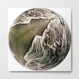 Globe06 Metal Print