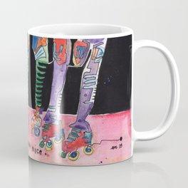 Roller Derby Girls Coffee Mug