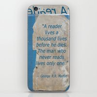 books iPhone & iPod Skins featuring Books by Dora Birgis
