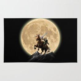 The Legend Of Zelda Full Moon Rug