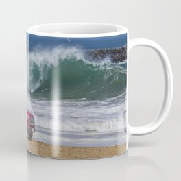 Newport Beach Lifeguard Truck Coffee Mug
