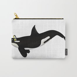 Killer Whale Headphones Carry-All Pouch