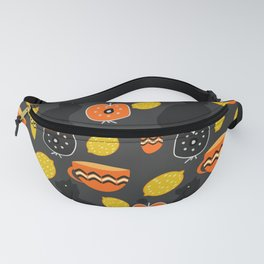 Cats, lemons and teacups Fanny Pack
