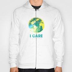 I Care / Blue Hoody