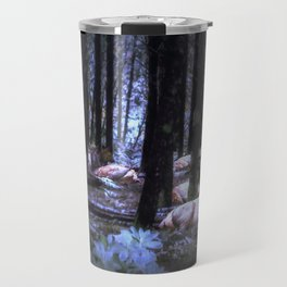 Faces in the Woods mod Travel Mug