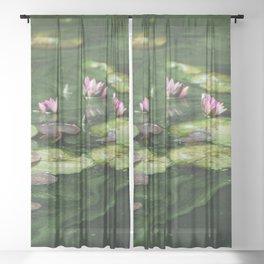 Water Colors Sheer Curtain