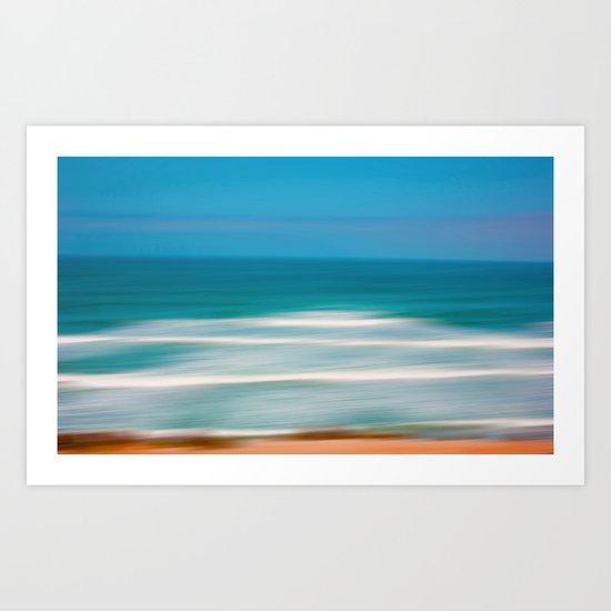 Sun, Sand & Sea Art Print
