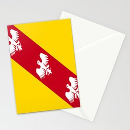 flag of lorraine Stationery Cards