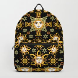 Snowflake Stars collection  by ©2018 Balbusso Twins Backpack