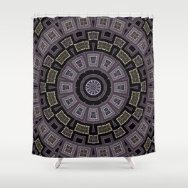 Embroidery beads and beads Shower Curtain