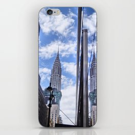 Chrysler Building Reflections in Midtown iPhone Skin