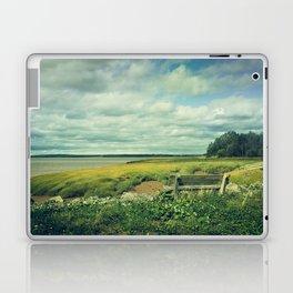 Bench at Newport Landing Laptop & iPad Skin
