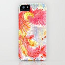 Firey Phoenix iPhone Case