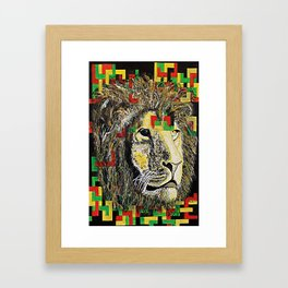 Lion In Zion Framed Art Print