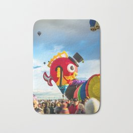 Fancy and Cute Hot Air Balloon Fish Bath Mat