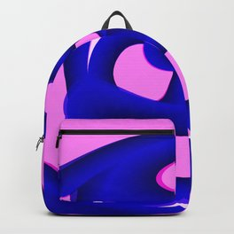 Pink Life Overlay Backpack