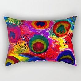 Circles Rectangular Pillow