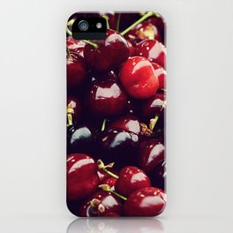 Summer Cherries iPhone Case