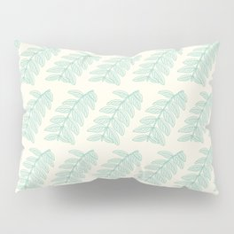 Pinnated Compound Leaves Pattern Pillow Sham
