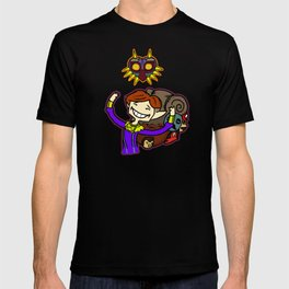 Happy Mask Salesman T-shirt