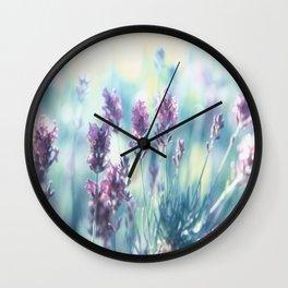 #Lavender #summer #beauty #dreams Wall Clock