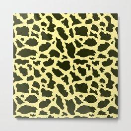 Giraffe paatern 3 Metal Print