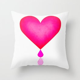 Squeeze Me Dry Throw Pillow