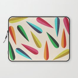Feathers II Cascading Colors Laptop Sleeve