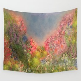 A Summer Meadow Wall Tapestry