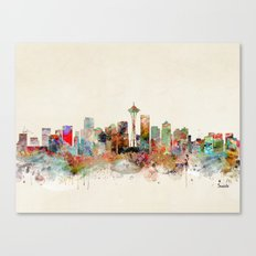 seattle washington Canvas Print