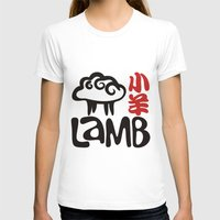 lamb T-shirts featuring Lamb by biblebox