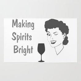 Making Spirits Bright Holiday Rug