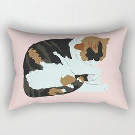 Cozy Calico Rectangular Pillow