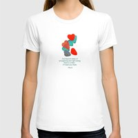 daria T-shirts featuring there is a field... I'll meet you there. by Deepti Munshaw