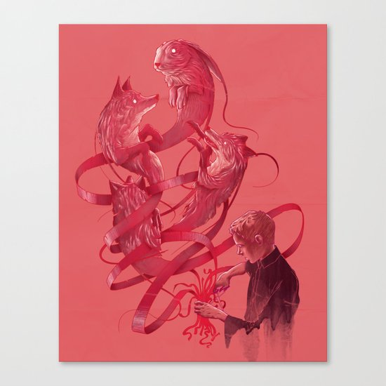 Cutting to the Chase Canvas Print